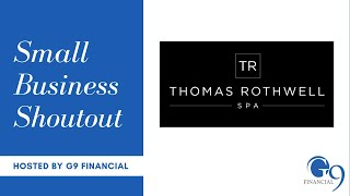 G9 Small Business Shout Out – Thomas Rothwell