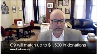 G9 Financial Interview with Worcester County Food Bank